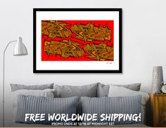 Discover «red vision», Limited Edition Fine Art Print by sa sha - From $29 - Curioos