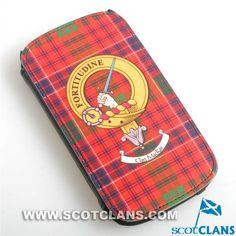 Clan MacRae Phone Flip Case