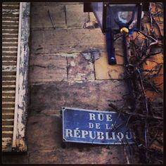 Photo Maçonnique : ...Rue de la République !