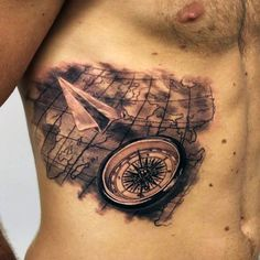 60 Paper Airplane Tattoo Designs For Men