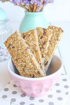 Cómo hacer barritas de cereales » Galletilandia Muesli, Granola, Healthy Life, French Toast, Cookies, Baking, Breakfast, Desserts, Recipes