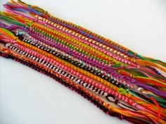 25 Custom Friendship Bracelets  Bulk Order by ClamBoneBracelets, $34.00