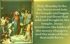 Holy Monday