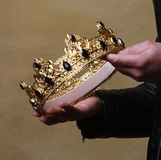 Your Favorite Crown King Crown Gold and Black crown Crown for King Kings crown prince crown make crown mens crown queen crown Crown Aesthetic, Queen Aesthetic, Princess Aesthetic, Male Crown, Prince Crown, Or Noir, Queen Crown, Crown For King, Kings Crown