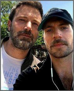 Ben Affleck & Henry Cavill..........