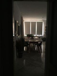 Living room decor ,white curtains