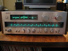 My Sony Receiver STR-V6 Vintage Audiophile...Recent Best Buy,Great Quality Of Construction And Audio !... http://samissomarspace.wordpress.com