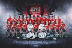 Finnish Floorball team Jeppis FBC. Photo, photo manipulation, photoshop, layout, design, AD Mika Tervaskangas / Therwiz Design. Jeppis FBC salibandy joukkuekuva, kuvaus, editointi, kuvankäsittely, ulkoasu, AD Mika Tervaskangas / Therwiz Design. #Therwiz #TherwizDesign #MikaTervaskangas #JeppisFBC #Design #photo #joukkuekuva #salibandy #floorball #sport #teamphoto