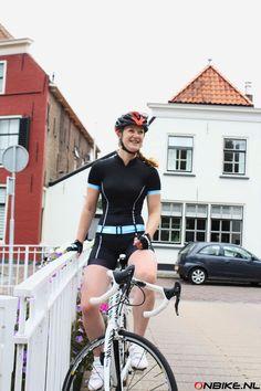 Davanti Bikewear dames fietspak Jill Black voorjaar/zomer 2016 verkrijgbaar bij onbike.nl