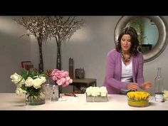 how to - creative flower arrangement