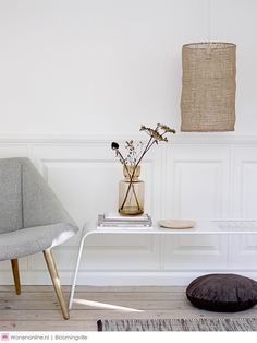 When searching for a lamp for your home, your choices are almost limitless. Find the most suitable living room lamp, bed room lamp, table lamp or any other type for your selected space. Danish Interior, Scandinavian Interior, Scandinavian Style, Boho Apartment, Design Apartment, Decorating Your Home, Interior Decorating, Interior Design, Mural Floral