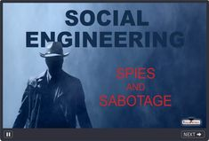 Social Engineering and Information Security Awareness Training