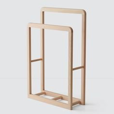 We partner with artisans to create modern goods for the well-traveled home. Hinoki Cypress, Hinoki Wood, Furniture Making, Furniture Decor, Bedroom Furniture, Furniture Design, Bath Stool, Wood Rack, Basket Decoration