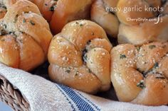 our easy garlic knots recipe will knock your socks off—it's that good   CherylStyle.com