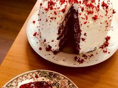 Velvet Cake, Red Velvet, Candy Cakes, Cake Cookies, Food Styling, Nutella, Tea Time, Food To Make, Panna Cotta