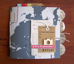 Precocious Paper: Travel Mini Album