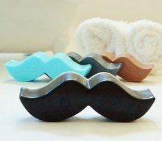 MUSTACHE SOAP   ~ Choose Scent & Color! $2.00