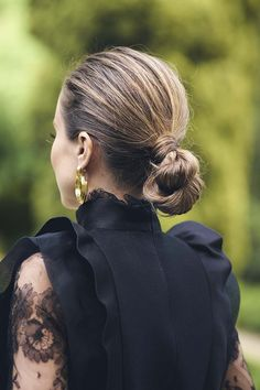 Updos, Girl Hairstyles, Hair Styles, Total Black, Wedding, Outfits, Girls, Party, Ideas
