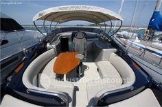 #DESCRIZIONE #UNITA'    Costruttore: #Riva    Modello: #Rivarama #44    Tipologia: #Motore    Categoria: #Open    Materiale #costruzione: #P.R.F.V.    Anno #costruzione: 2007 #(Refitting #2017)    Lunghezza #(f.t.): #13,20    Larghezza #(f.t.): #3,85    Dislocamento (T): #15,5    Max #passeggeri: ... #annunci #nautica #barche #ilnavigatore