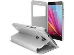 Coque Etui Huawei Honor 5X Flip Folio - Window View - Blanc - 8,90 €