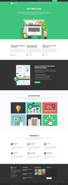 Show your digital marketing services in no time with Optimize WordPress theme!  #wordpress #theme #webdesign #design #seo #marketing #digitalmarketing #marketingagency #startup #hosting #socialmedia #interactive #analytics #infographic