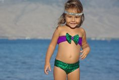 ATTINA: Baby Bow Bikini TOP Create Your own by PeaceOfParadise
