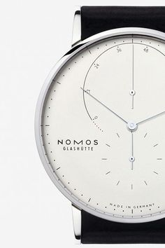 Nomos Glashütte, model: Lambda Weißgold EUR 13 800...