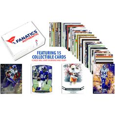 Cordarrelle Patterson Minnesota Vikings Collectible Lot of 15 Trading Cards - $9.49