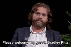 """Between Two Ferns"" With Brad Pitt"