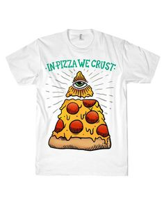 TRUST IN PIZZA TEE at Shop Jeen - SHOP JEEN