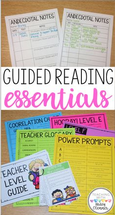 Guided Reading Essentials