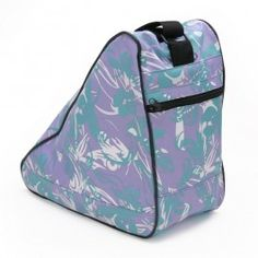 Rainbo Island Blue Figure Skate Tote Bag! Perfect for ice skating! Only $24.95   www.shoprainbo.com