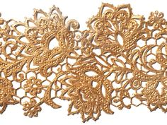 Ready made lace sample using Parisian Gold- lace design is 'Star' from the Crystal Candy mould range. Crystal Candy, Edible Diamonds, Gum Paste Flowers, Gold Lace, Sugar Flowers, Lace Design, Flower Designs, Vivid Colors, Cake Decorating