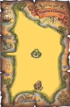 If we do pirates and pals print an invite on this Disney Magic Cruise, Disney Magic Kingdom, Disney Fun, Disney Trips, Disney Stuff, Vacation Scrapbook, Disney Scrapbook Pages, Scrapbooking, Disneyland Map