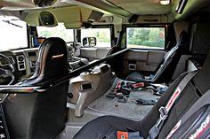 HummerH1 Interiors
