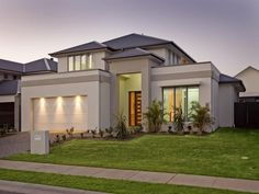 Photo of a concrete house exterior from real Australian home - House Facade photo 380802