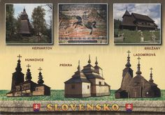 SK - Wooden Churches of the Slovak part of the Carpathian Mountain Area by MerJade, via Flickr