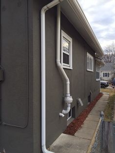 Radon Mitigation System Vent Pipe Radon Mitigation Pinterest - Radon in basements