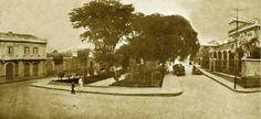 Plaza España 1933. Hoy en día Avenida Urdaneta...