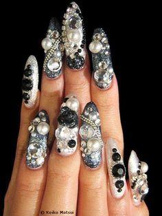 28 Best Ugly Nails Images On Pinterest Crazy Nails Fingernail
