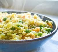 vegan meals - rice pilaf