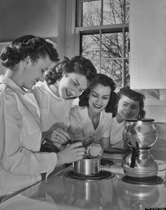 A look back at a Home Ec class from the 1940s/1950s -- and why Home Ec classes need to make a comeback!