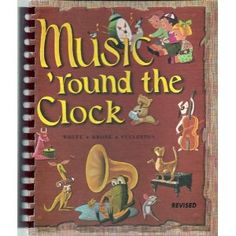 Music Round the Clock by Beatrice Perham Krone (et al.) This was the same book I had in music class when I was in elementary school.  Little did I know the author's last name would be MY last name when I got married --decades later!  Bought this book on ebay...for sentimental reasons!