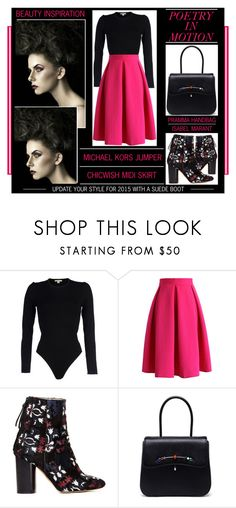 """""""Poetry In Motion"""" by latoyacl ❤ liked on Polyvore featuring Michael Kors, Chicwish, Isabel Marant and Pramma"""