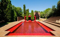 a-summer-house-with-the-red-pool | is a red pool too much? | #summerhouse #pool #redpool