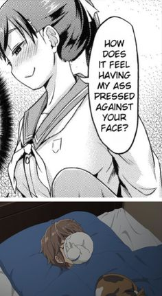 Really Funny Memes, Stupid Funny Memes, Funny Cartoons, Funny Comics, Rando Comics, Otaku Meme, Anime Meme, Kawaii Anime Girl, Cute Anime Character