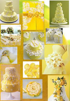 Walking On Sunshine: Yellow Wedding Inspiration Boards | Wedding Blog by With This Favor
