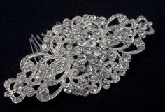 Vintage hair comb bridal wedding crystal rhinestone hair accessories ha251 dec