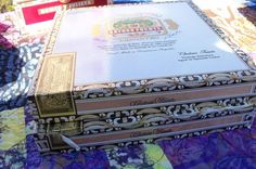 Cigar Box Large & Thin Arturo Fuente Jewelry by IndustrialPlanet