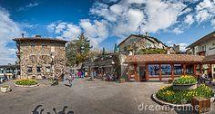 Medieval Village Square, Yvoire , France